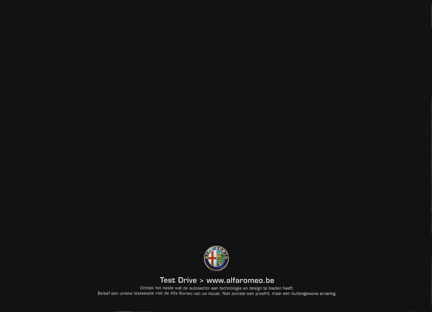 2007 Alfa romeo brochure