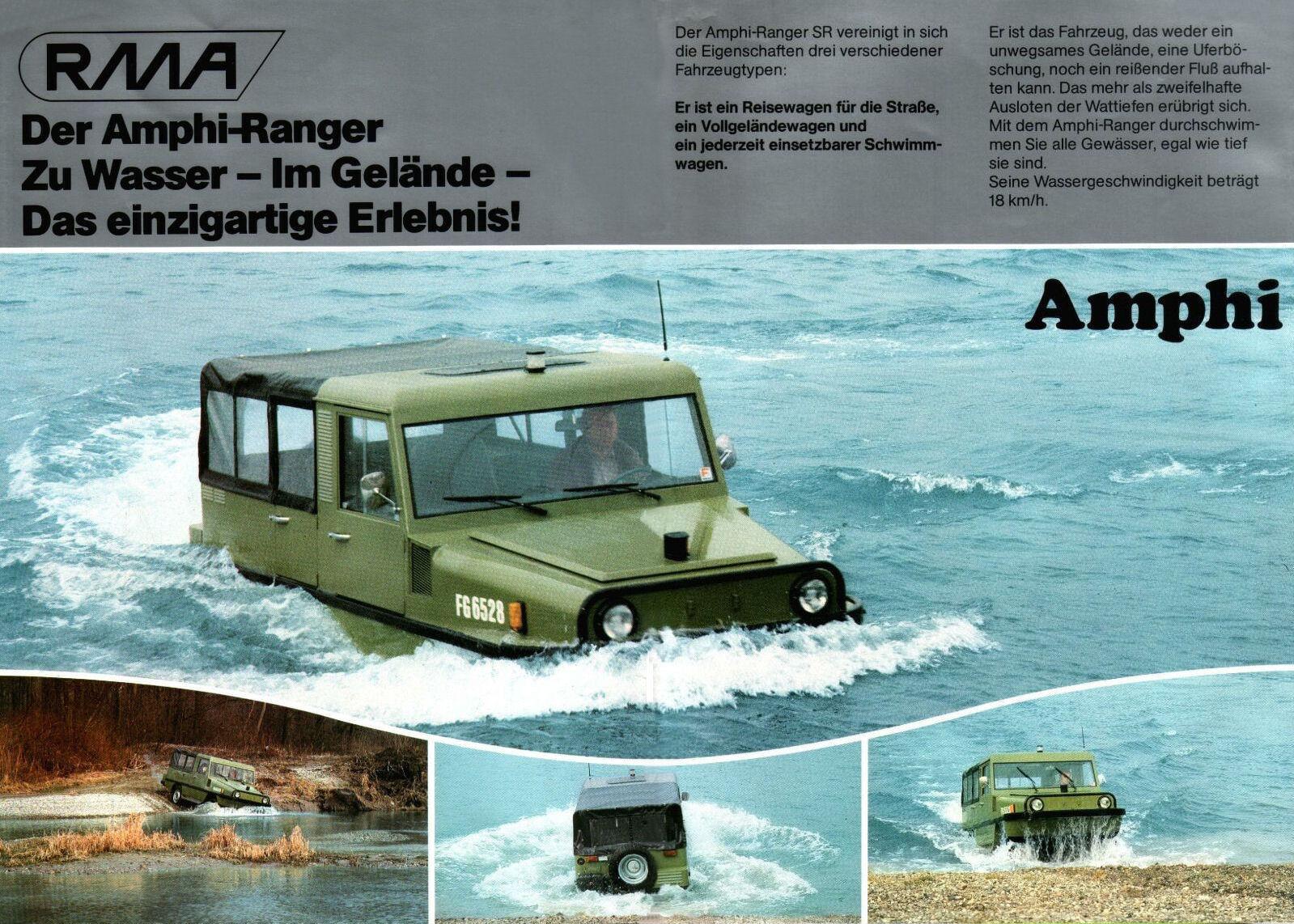 1984 Amphi Ranger brochure