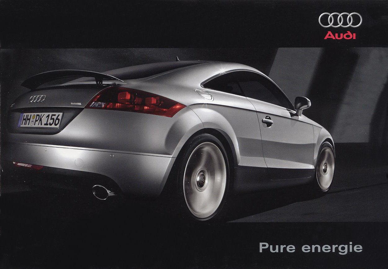 2006 Audi Tt Brochure