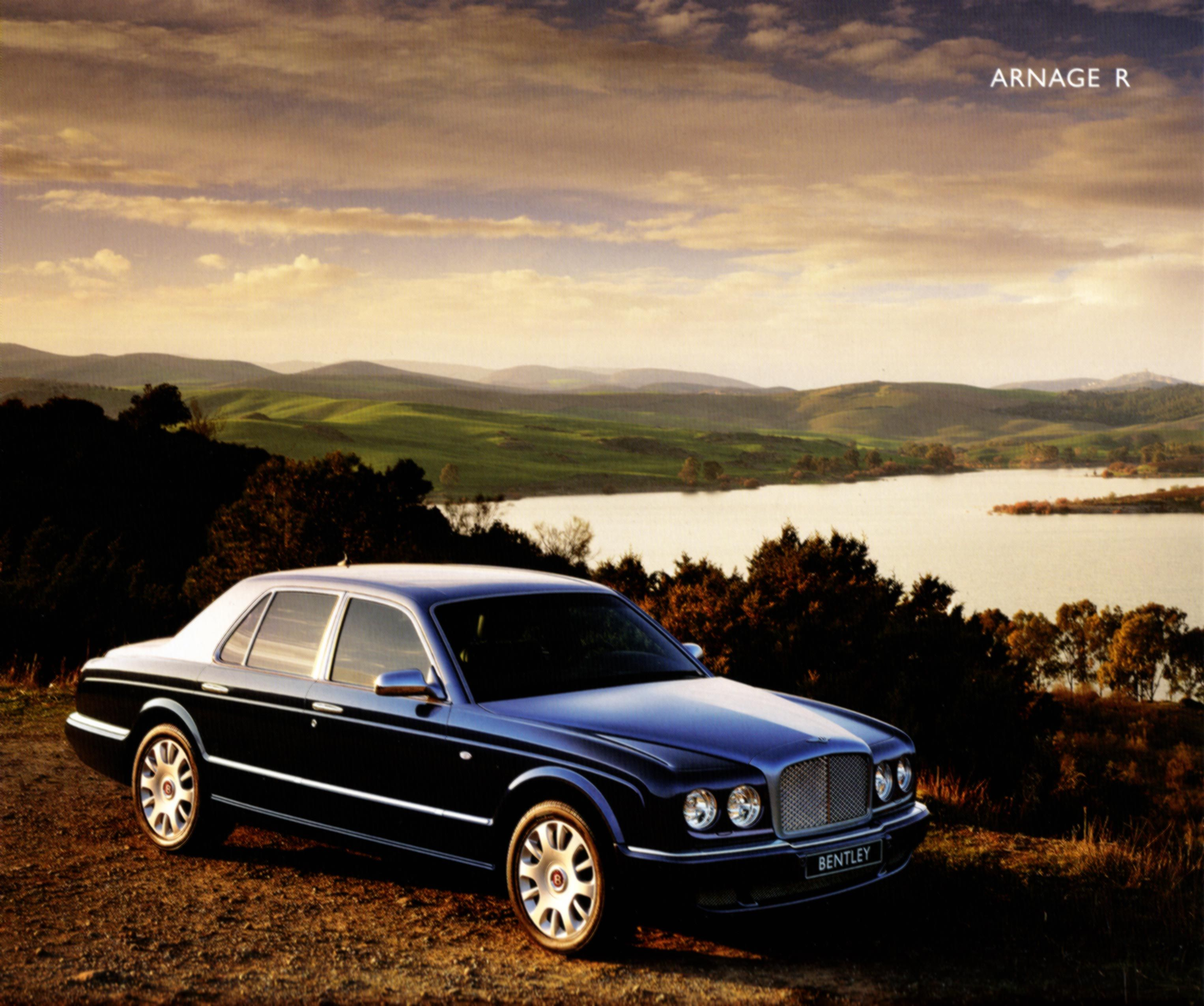 2006 Arnage Bentley Continental Flying Spur Brochure
