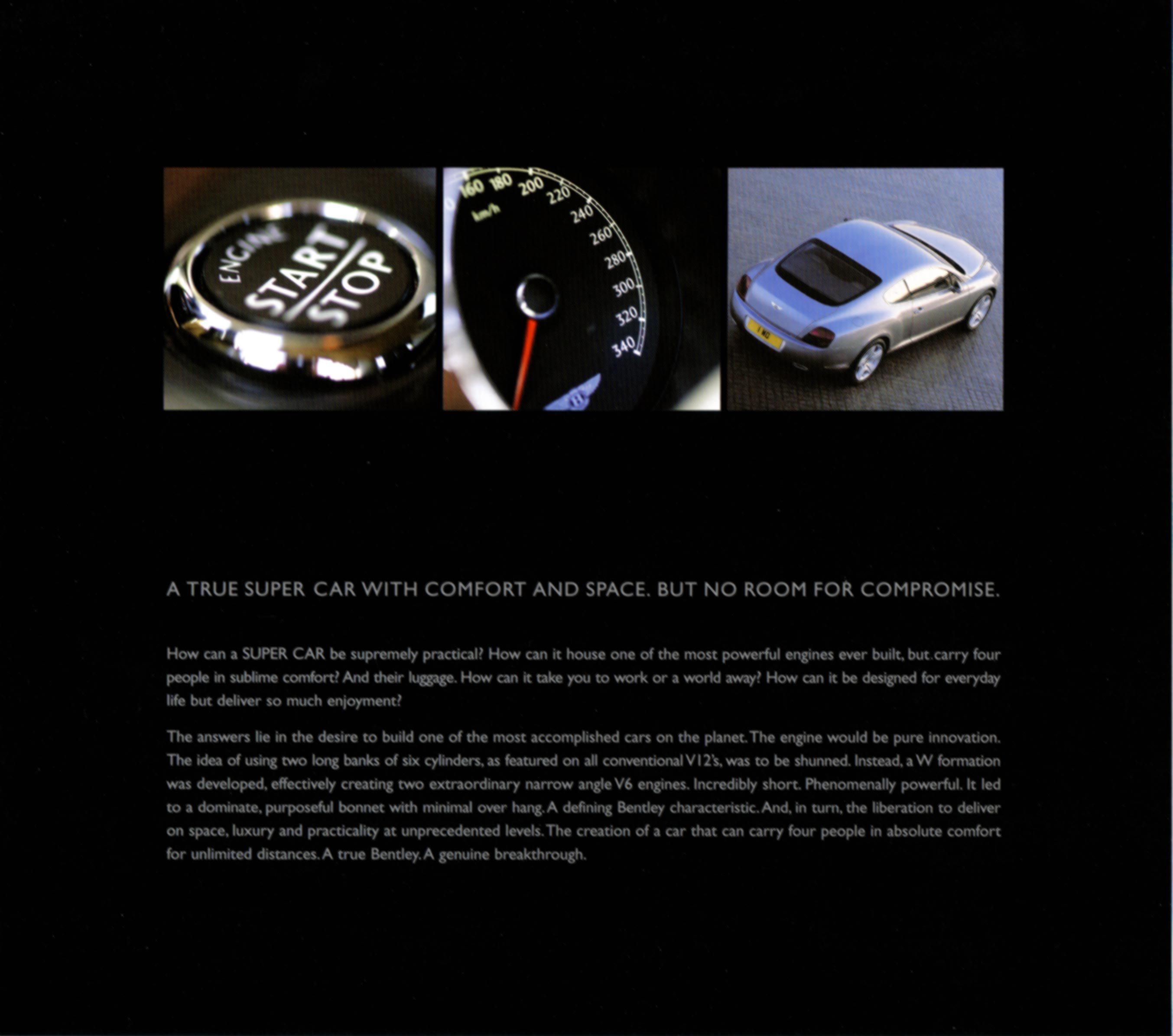 2006 Bentley Continental GT Brochure
