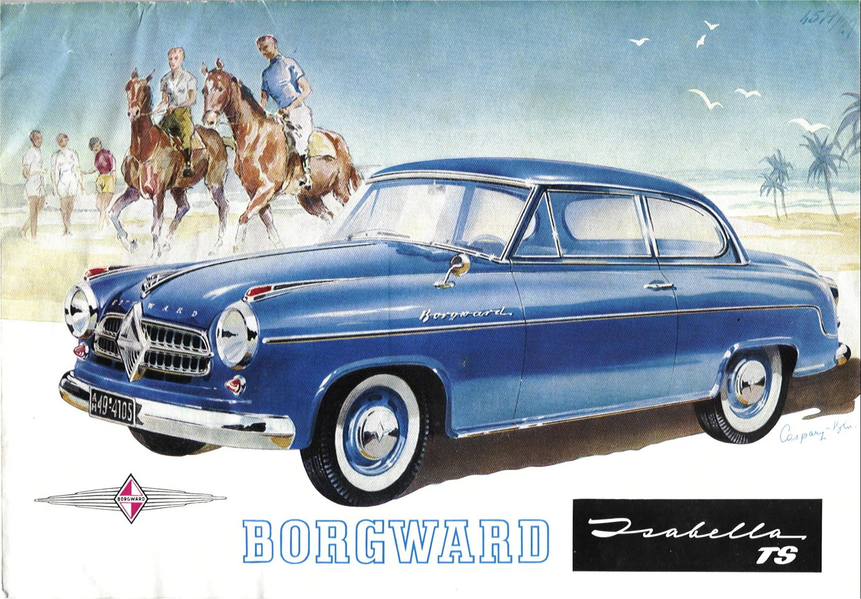 borgward isabella ts brochure. Black Bedroom Furniture Sets. Home Design Ideas