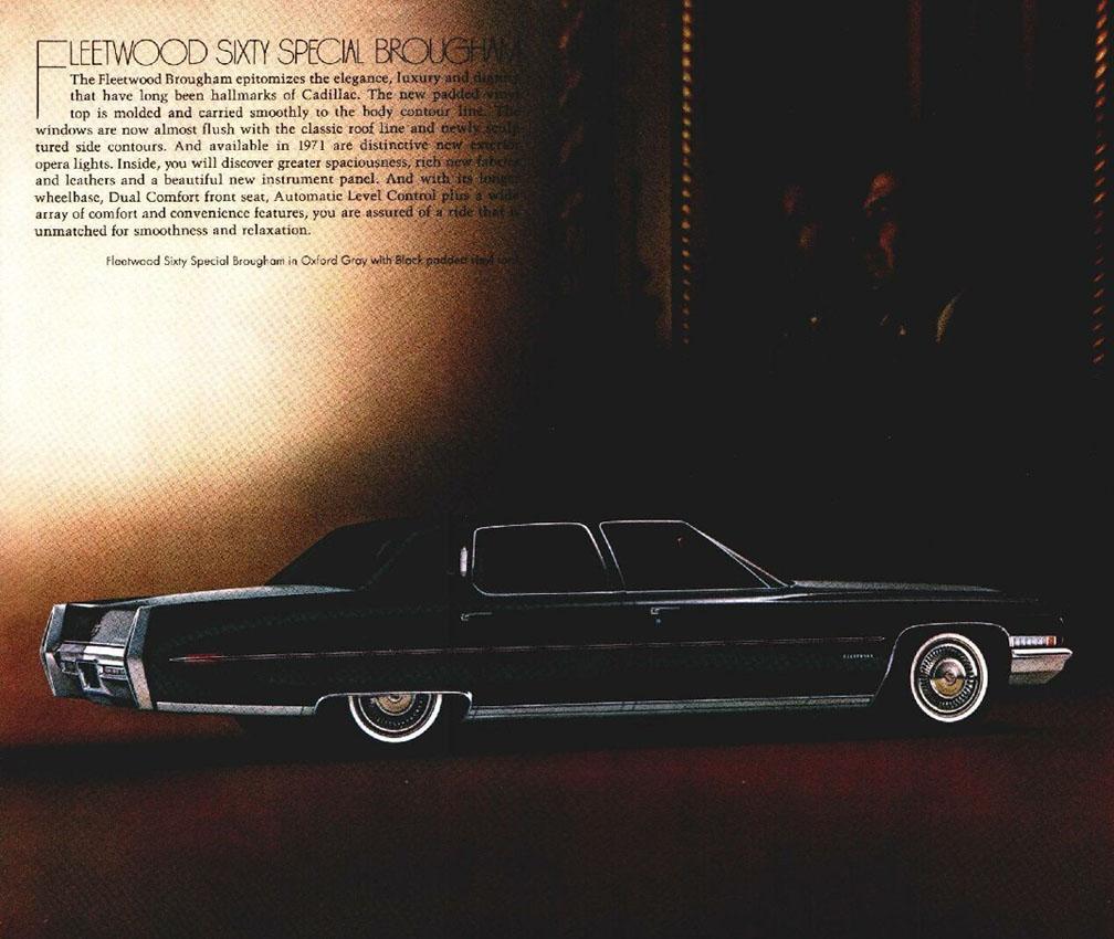 1971 Cadillac brochure