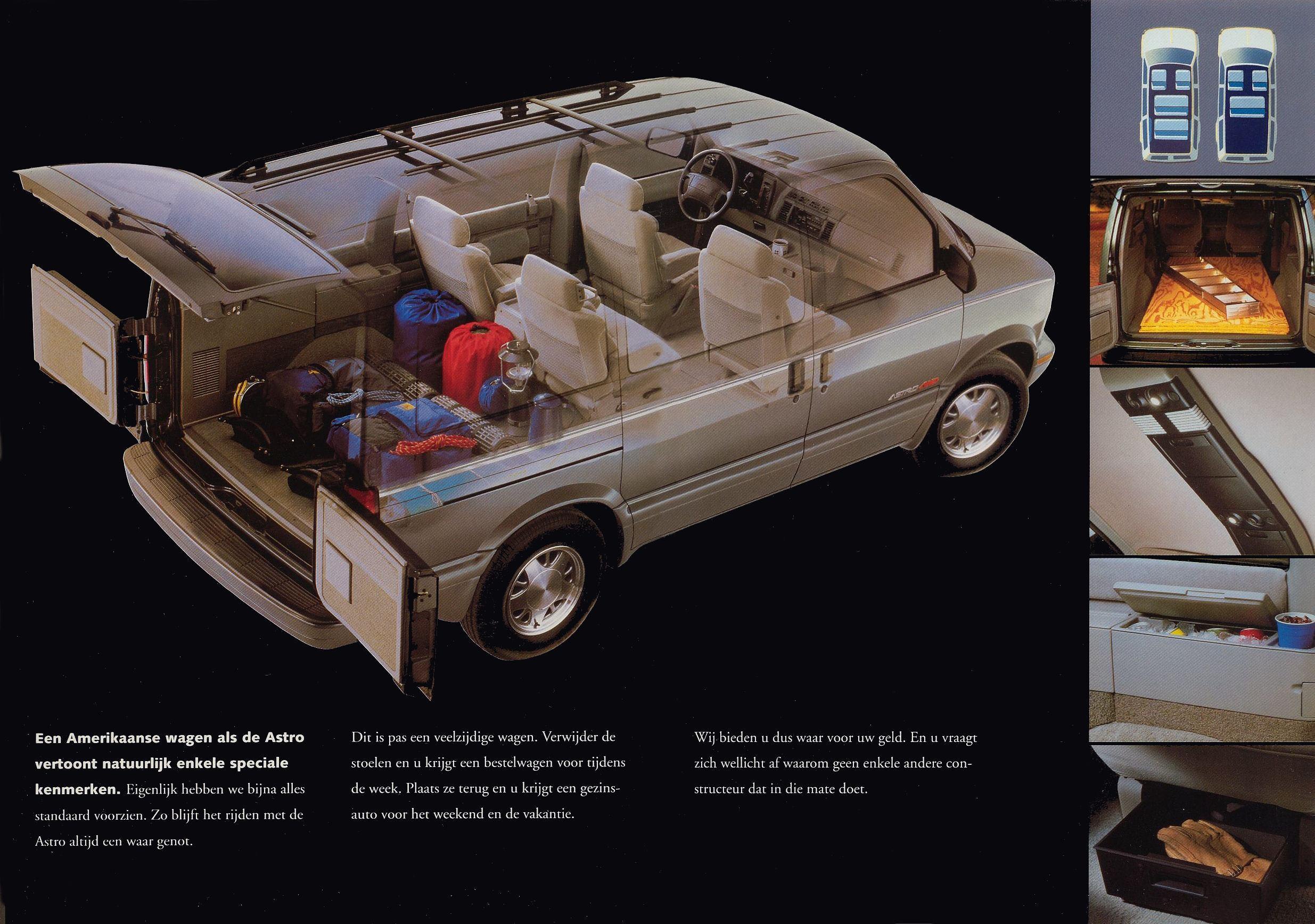 chevrolet astro 1995 brochure rh storm oldcarmanualproject com 97 Chevy Astro Van 1995 chevrolet astro van repair manual
