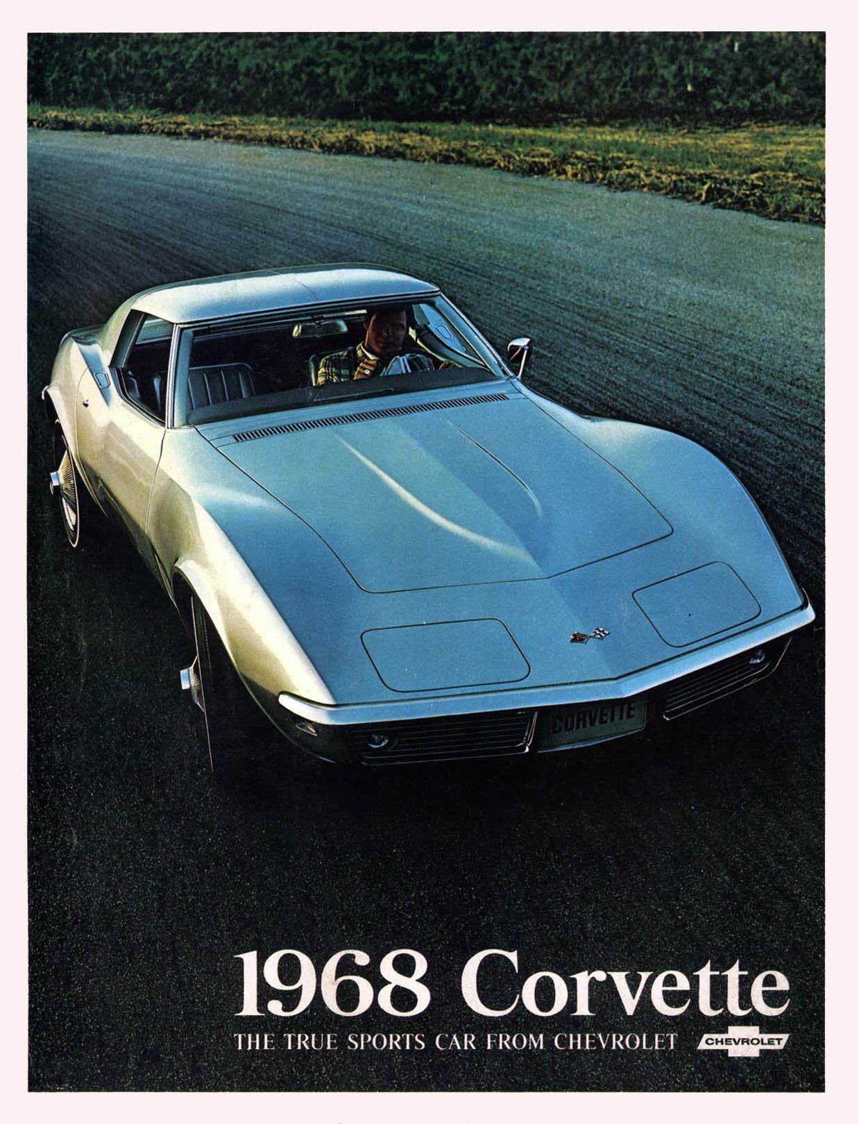 1968 Chevrolet Corvette Brochure Project Car