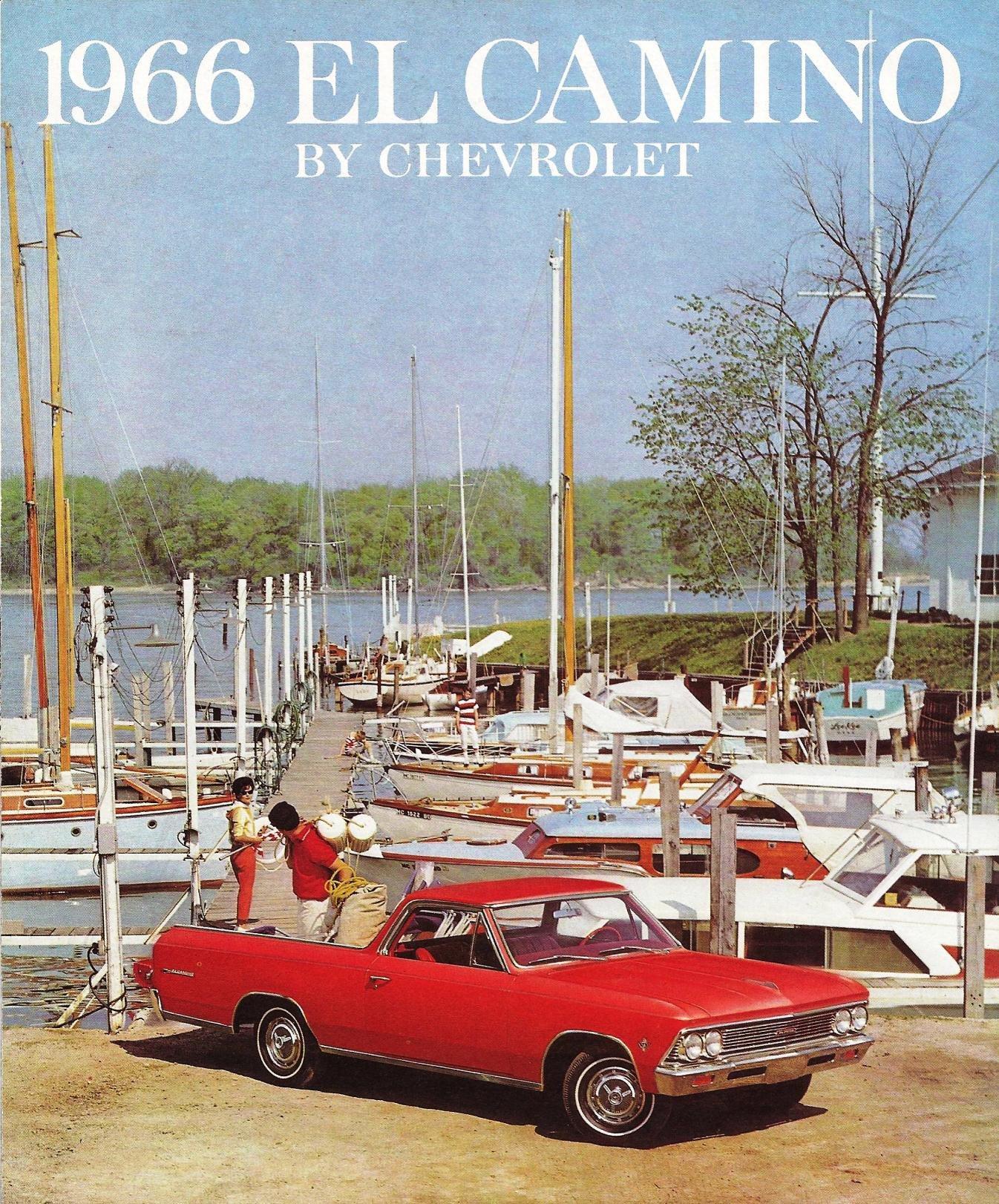 1966 Chevrolet El Camino brochure