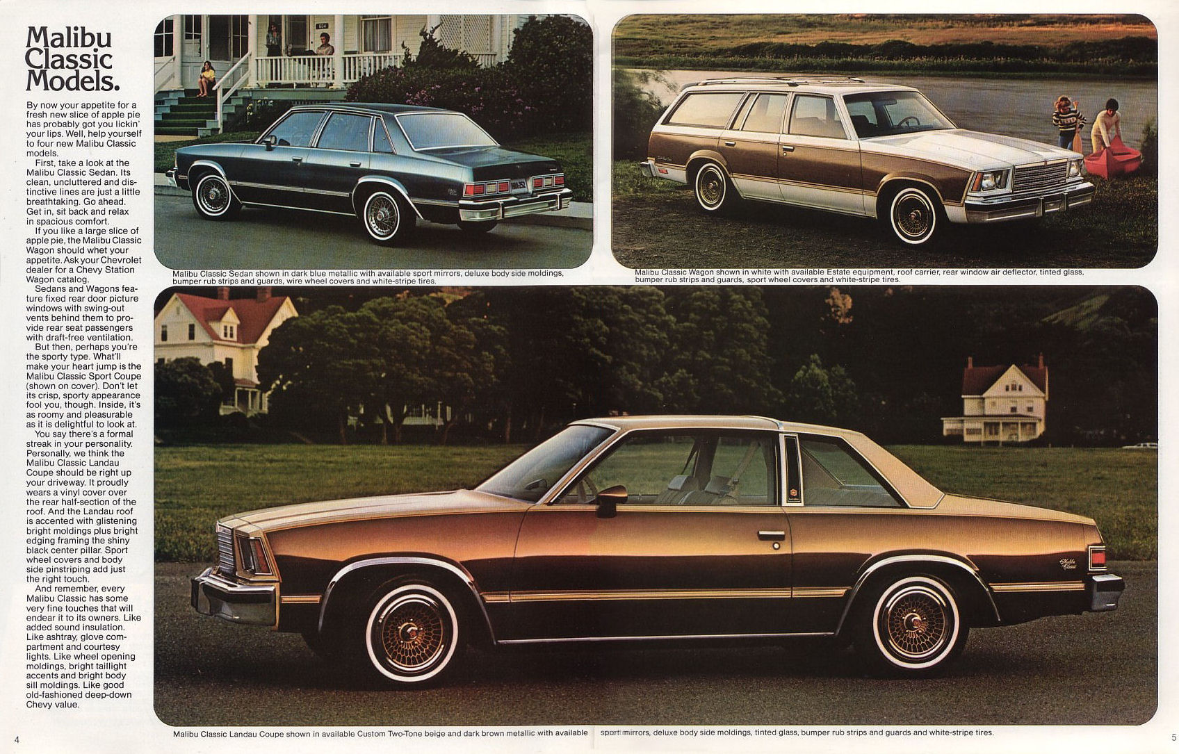 Landau 1979 Chevrolet Malibu Wiring Diagram 1978 Monte Brochure On Carlo 1977 Buick Century