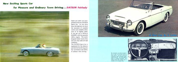 Old Datsun Sports Car