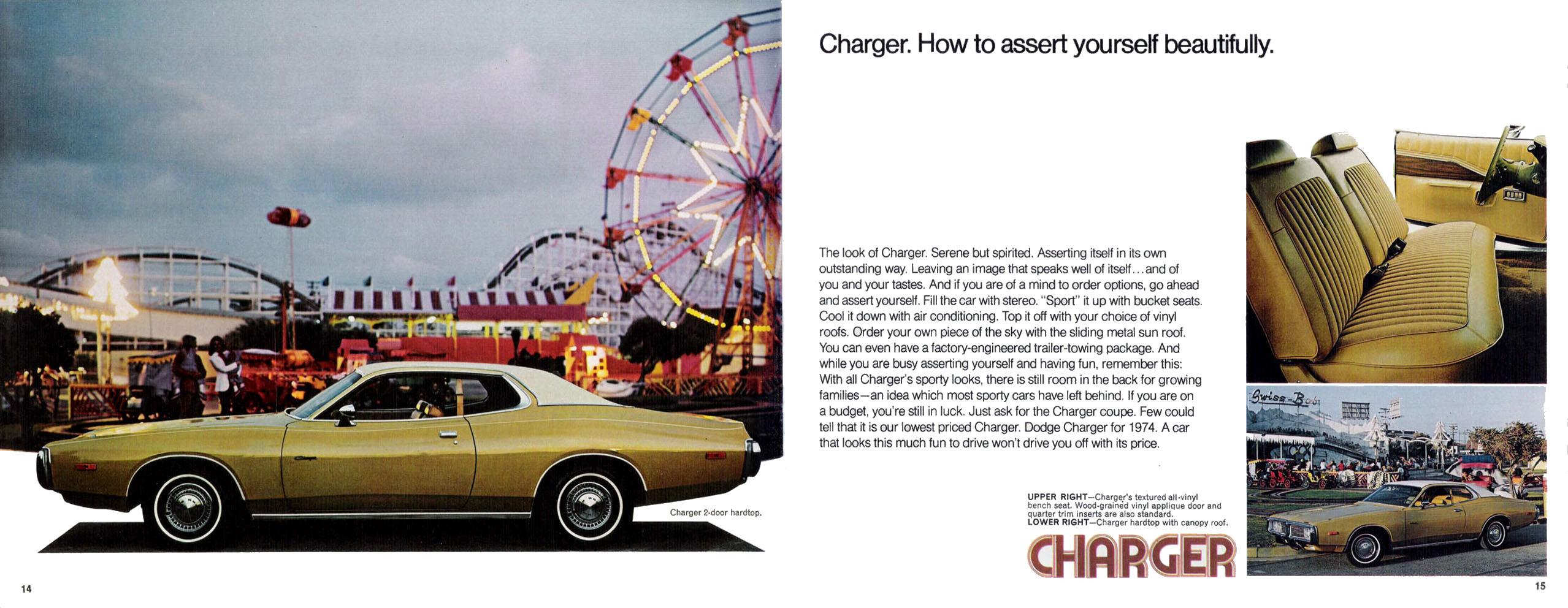 1974 Dodge brochure