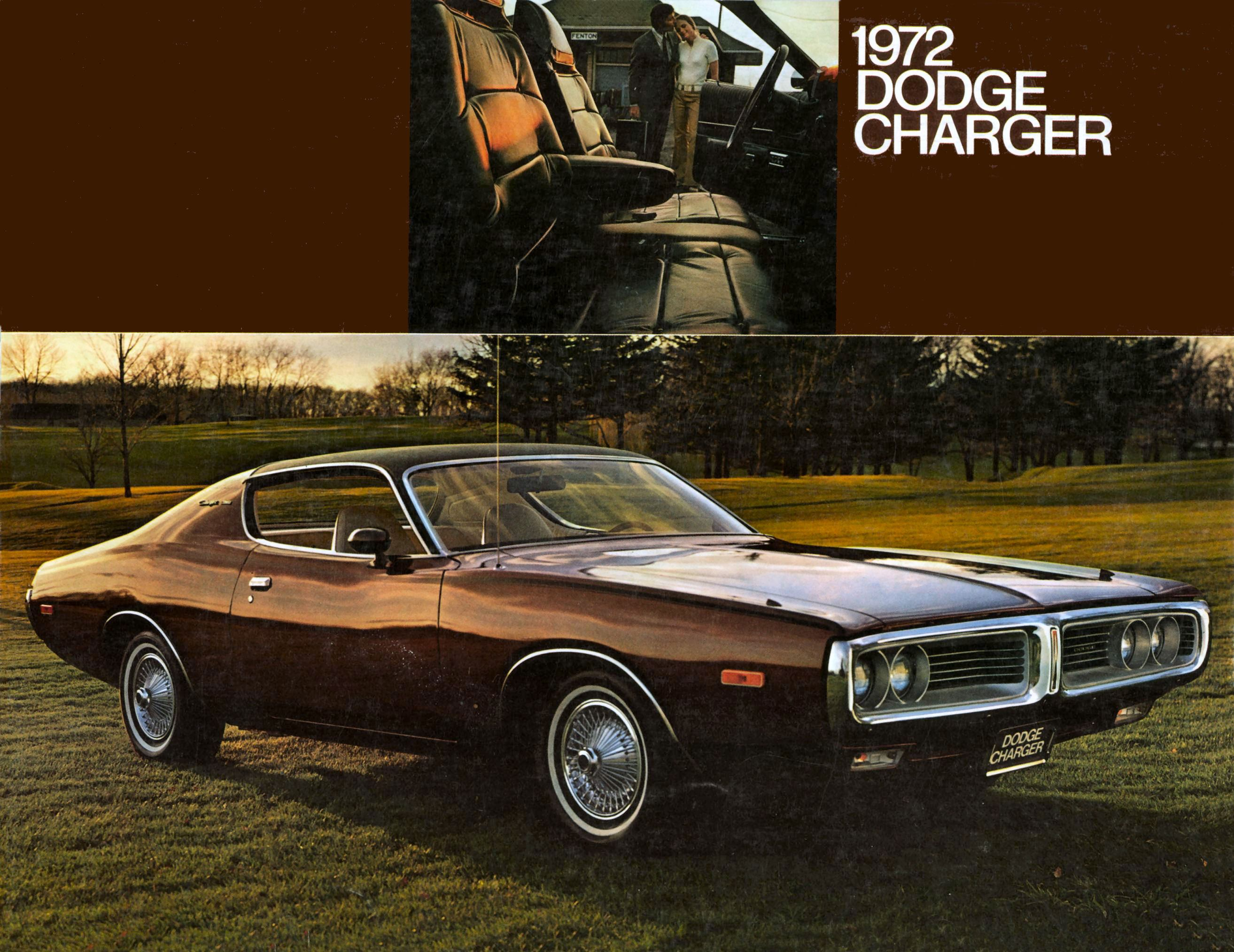 1972 Dodge Charger brochure