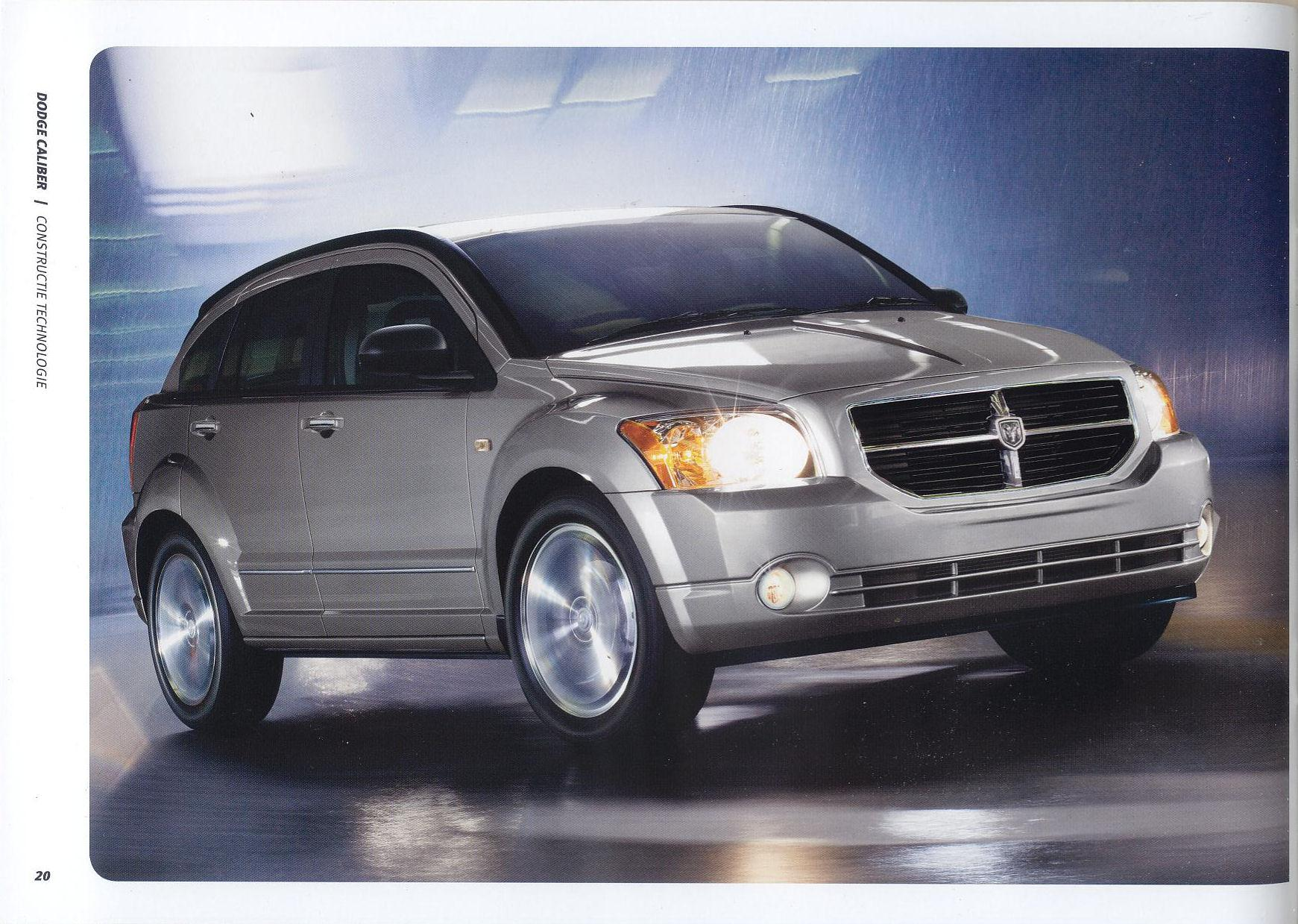 2007 dodge caliber brochure. Black Bedroom Furniture Sets. Home Design Ideas