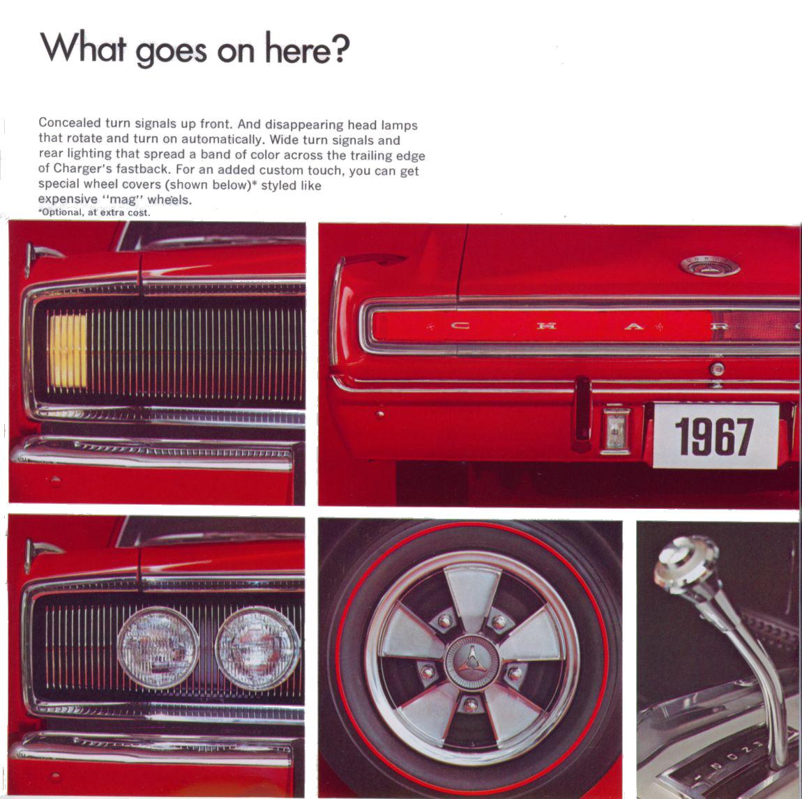1967 Dodge Charger brochure