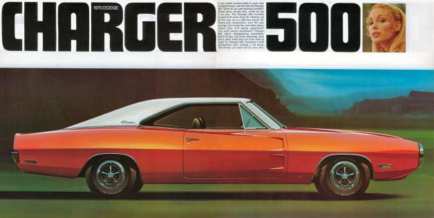 1970 Dodge Charger Brochure