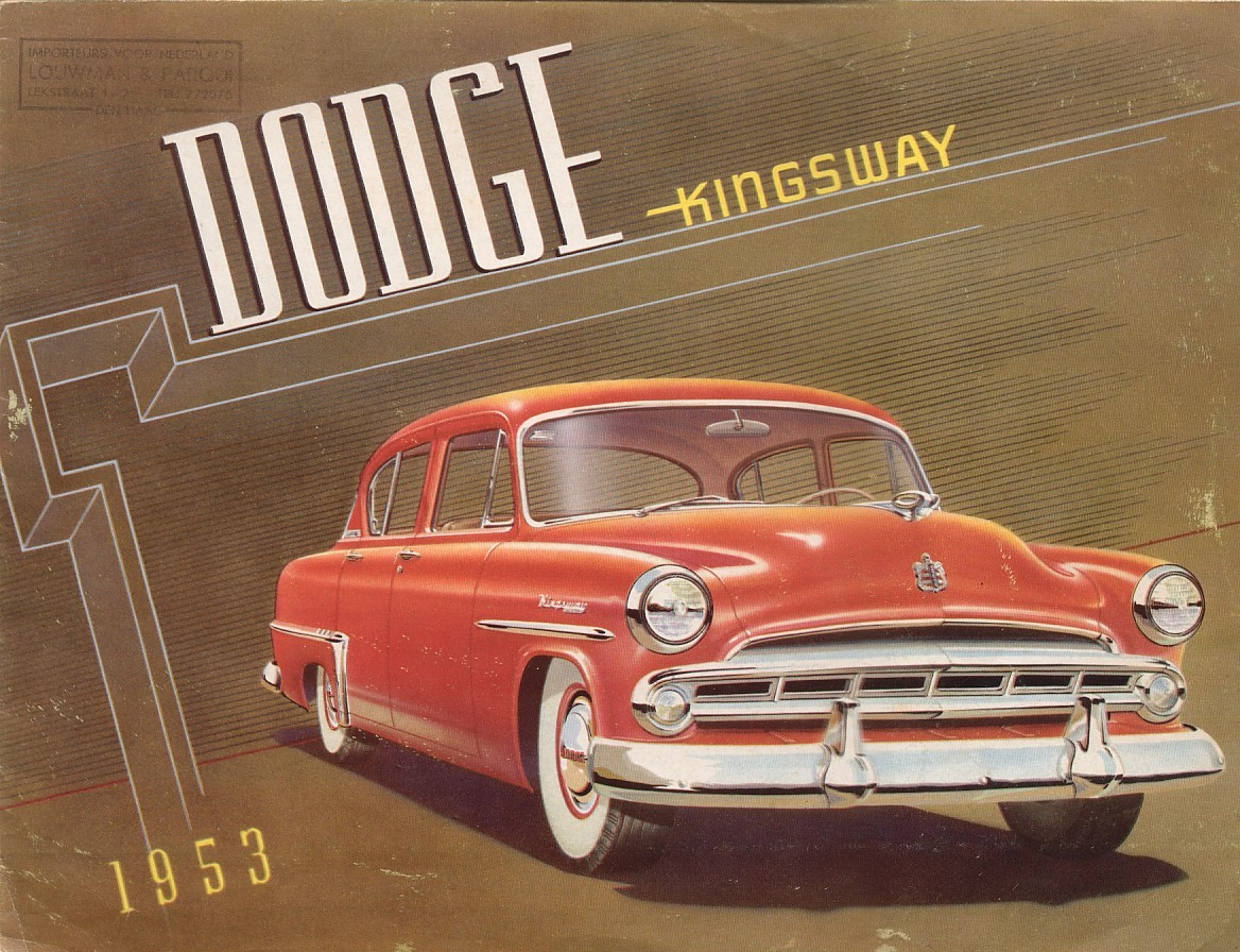 1953 Dodge Kingsway brochure – Old Car Brochure