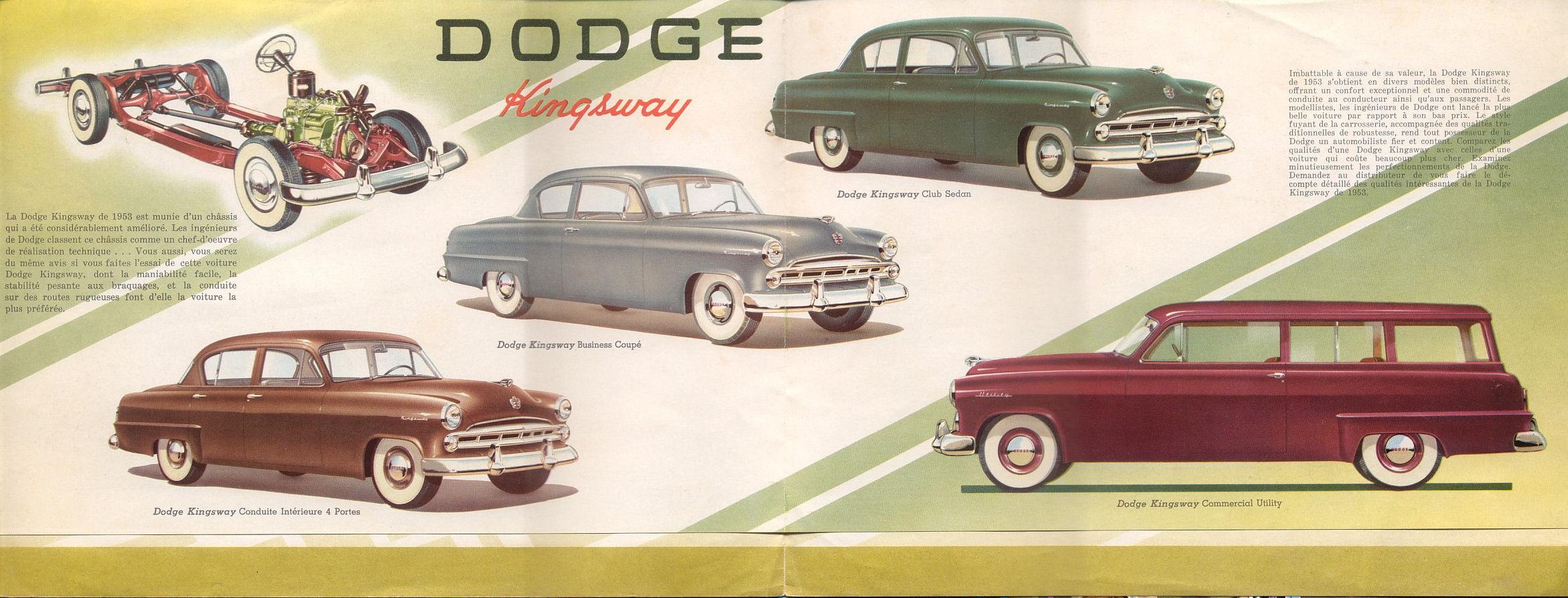 1953 Dodge Kingsway brochure