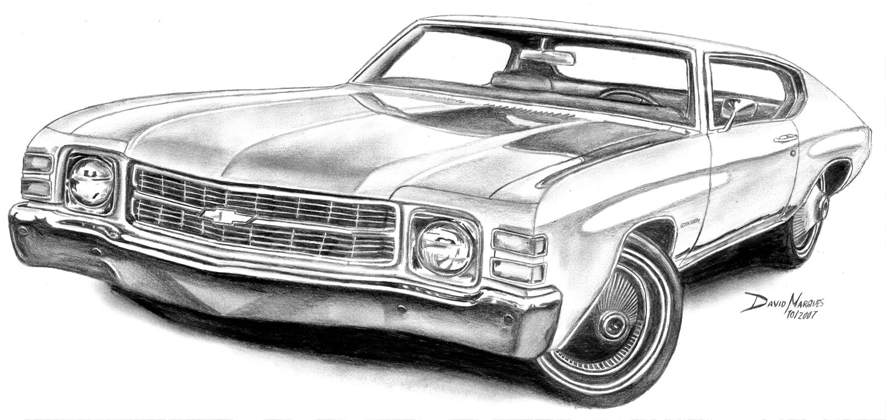 chevelle coloring pages - photo#19