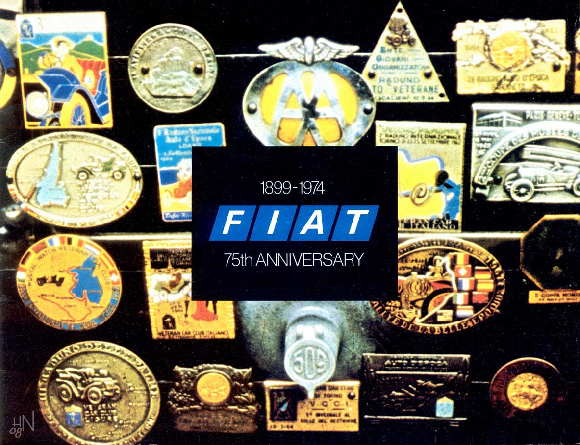 1974 Fiat Sports Car Brochure
