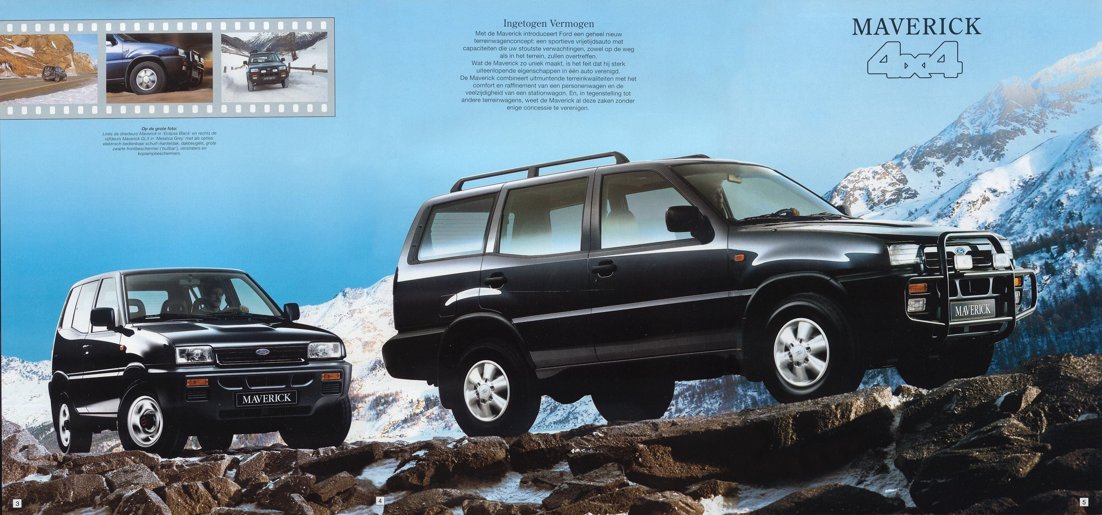 1995 Ford Maverick brochure