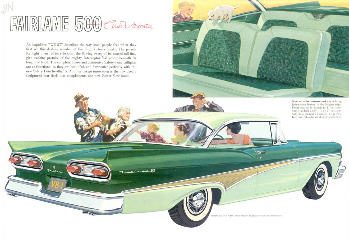Nourse Ford Top Car Models And Price 2019 2020 1957 Fairlane Retractable Wiring Diagram 500 Brochure