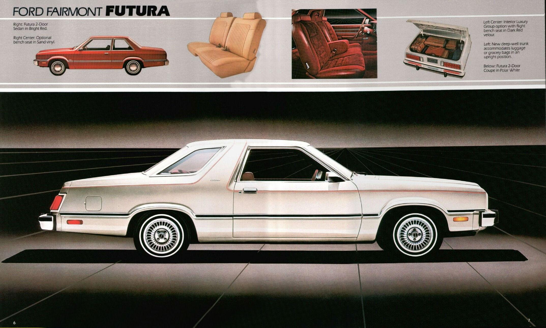 1982 Ford Fairmont Futura Brochure