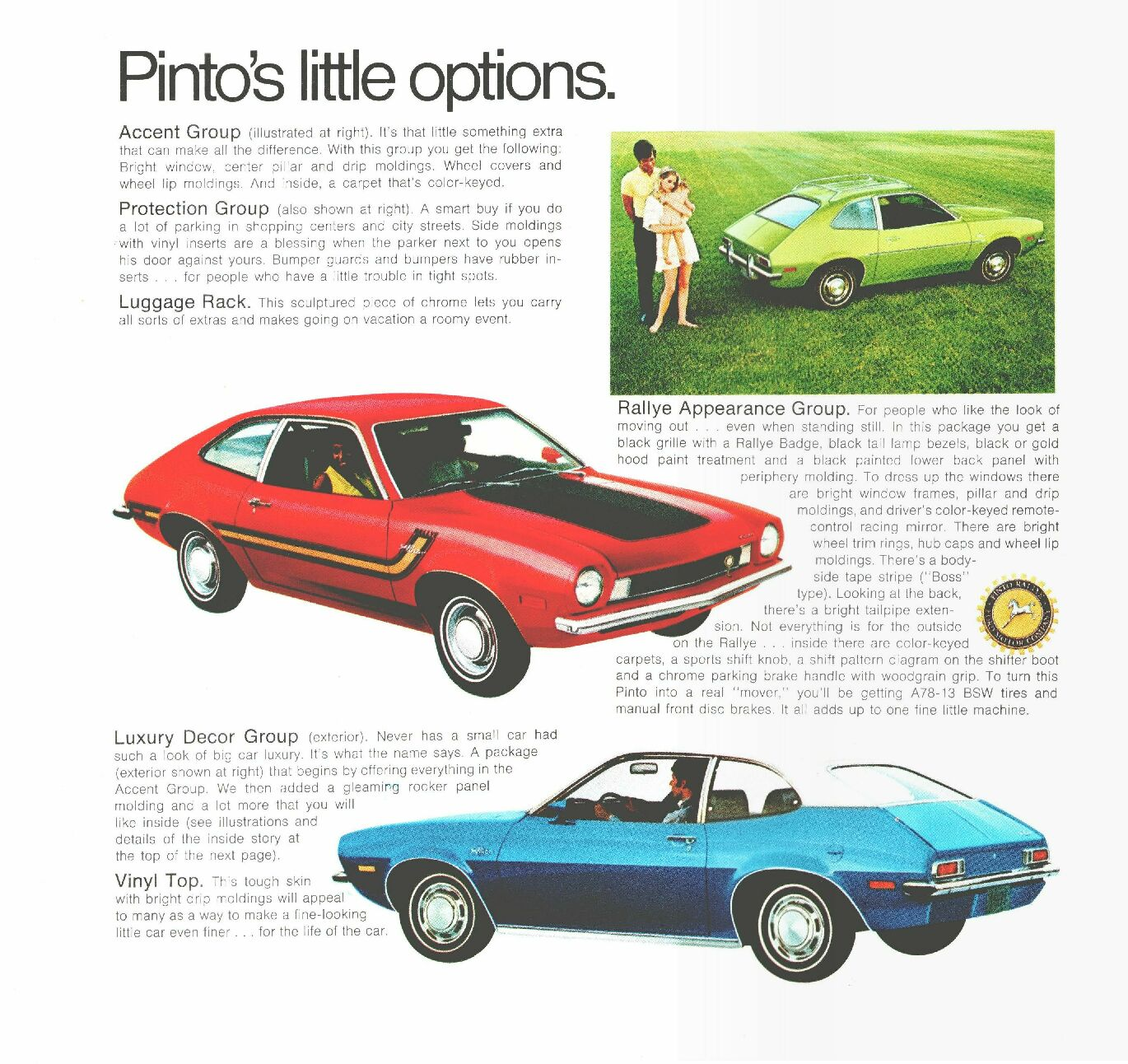 Ford Pinto Sedans And Ford: Ford Pinto 1970