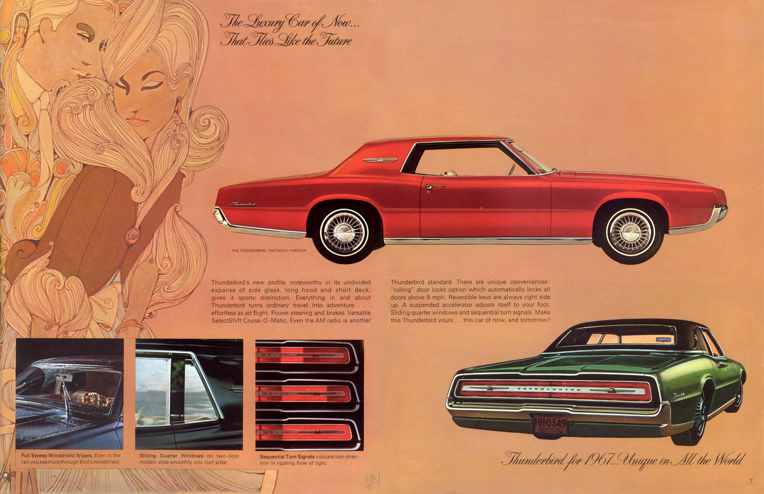1967 Ford Thunderbird Brochure