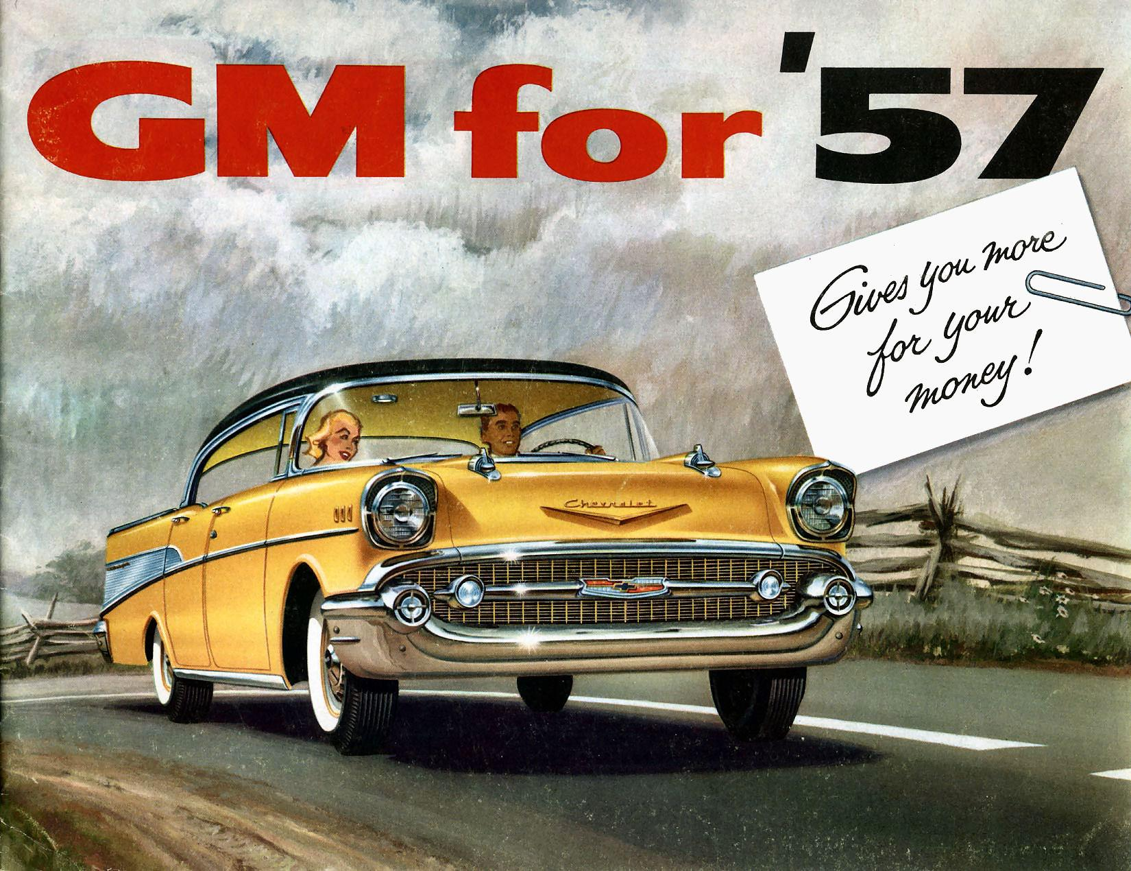 1957 General Motors Brochure
