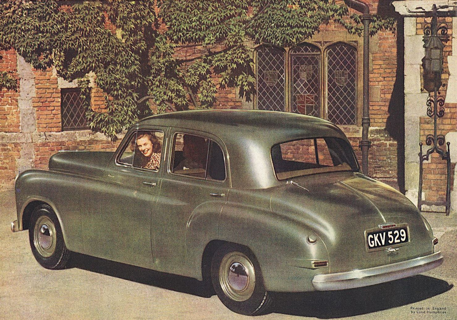 Old Cars Photos >> 1949 Humber Hawk brochure