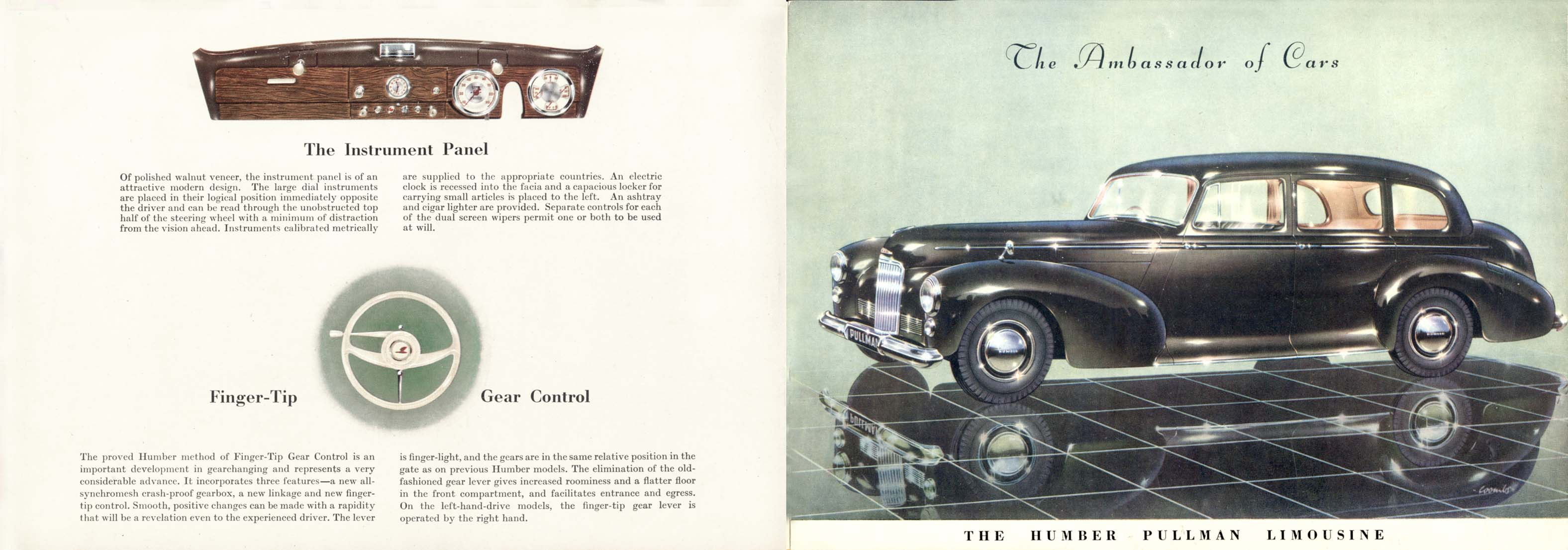 1948 Humber Pullman brochure