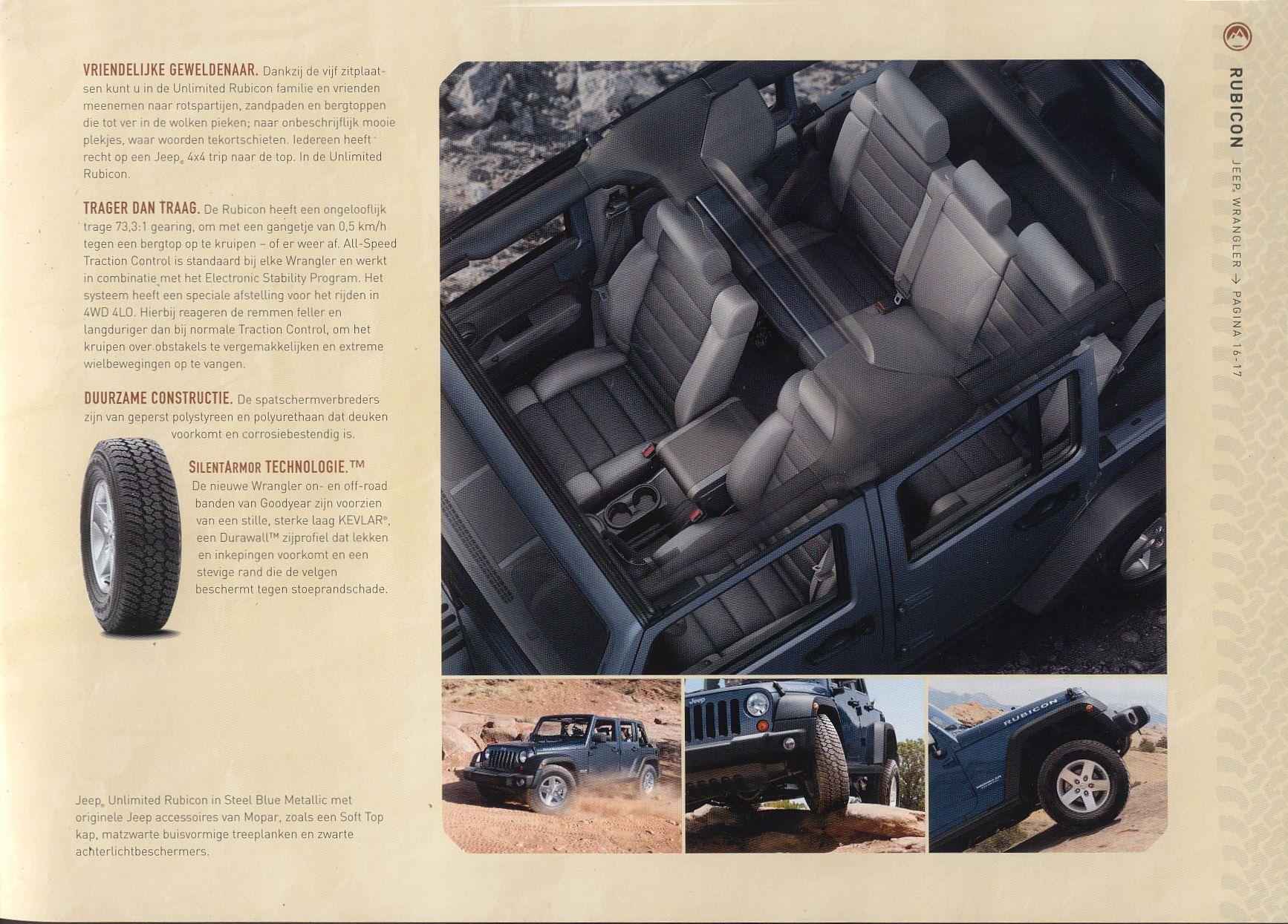 2006 jeep wrangler brochure. Black Bedroom Furniture Sets. Home Design Ideas