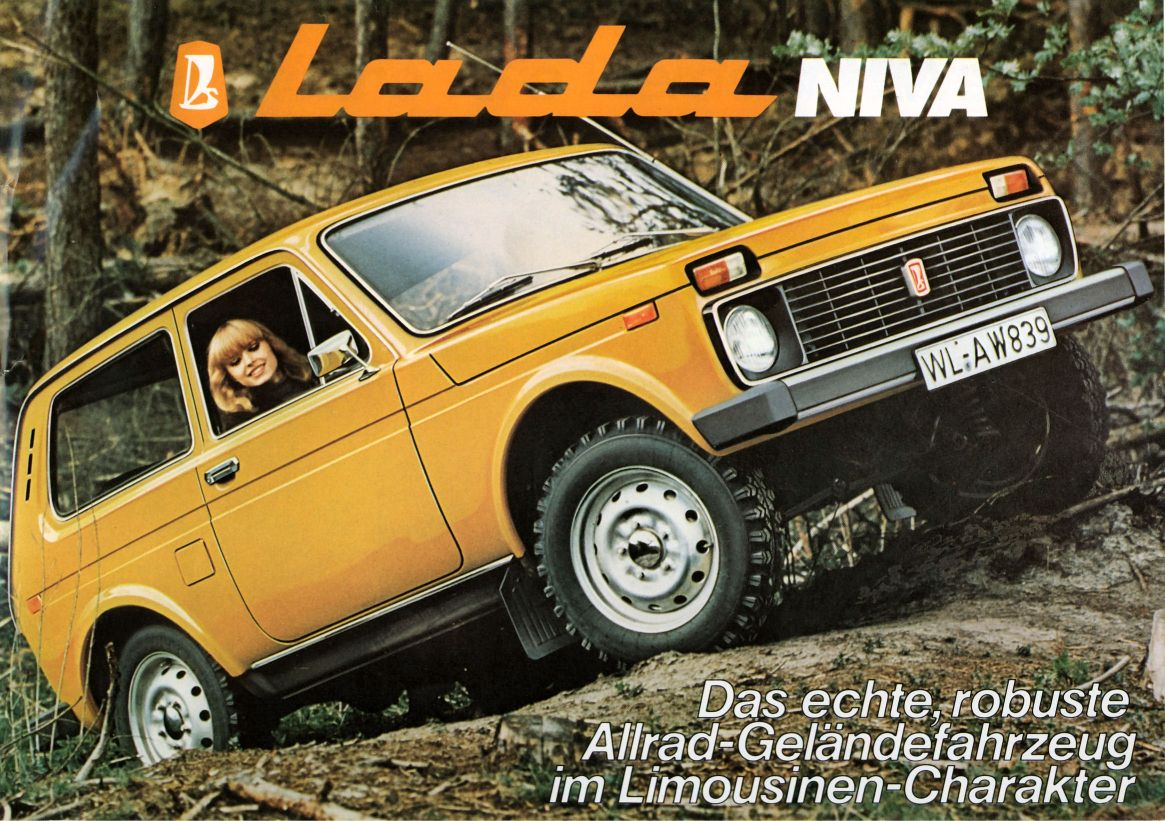luxury cars lada niva review images information. Black Bedroom Furniture Sets. Home Design Ideas