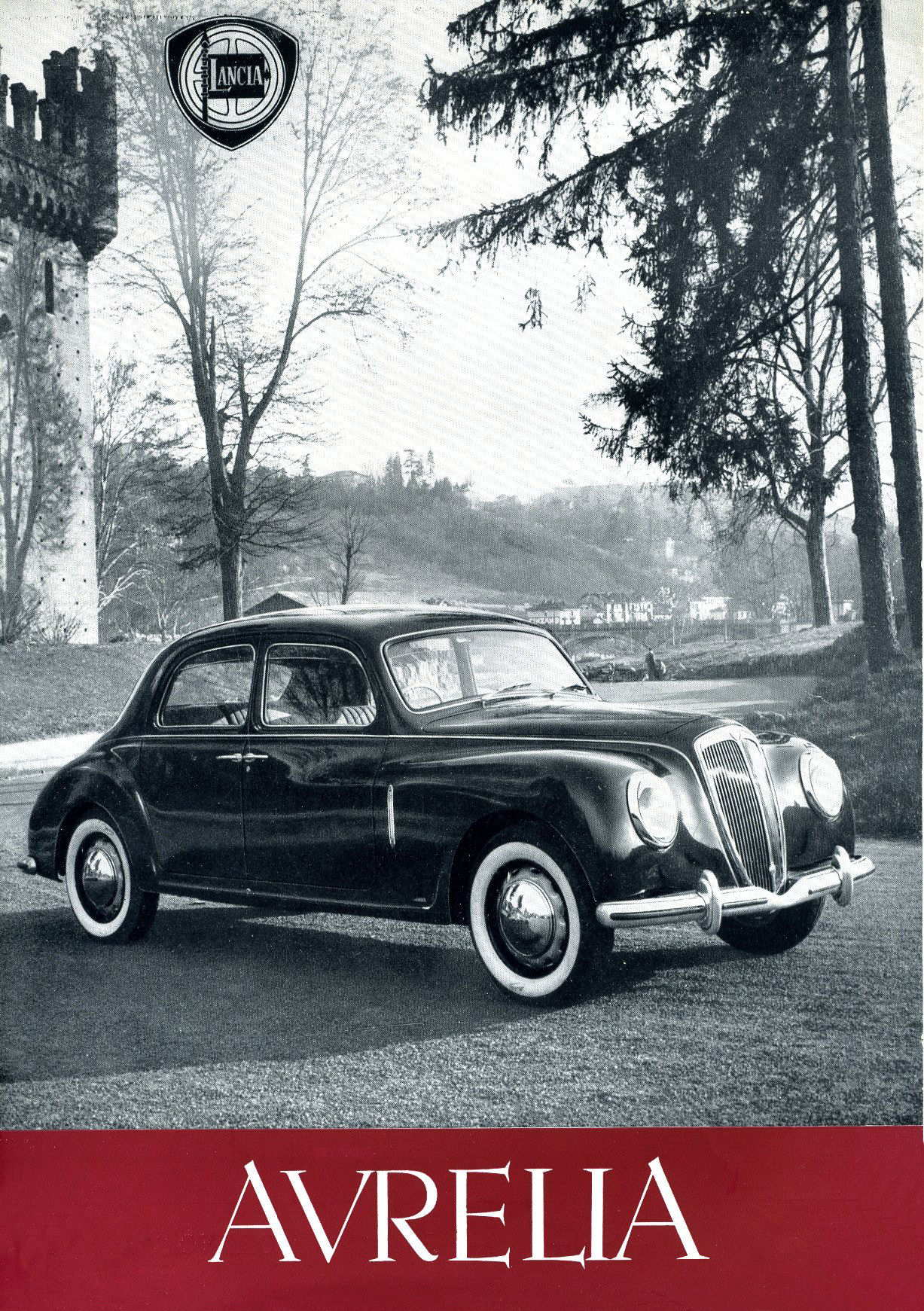 Old Cars Photos >> 1950-52 Lancia Aurelia brochure