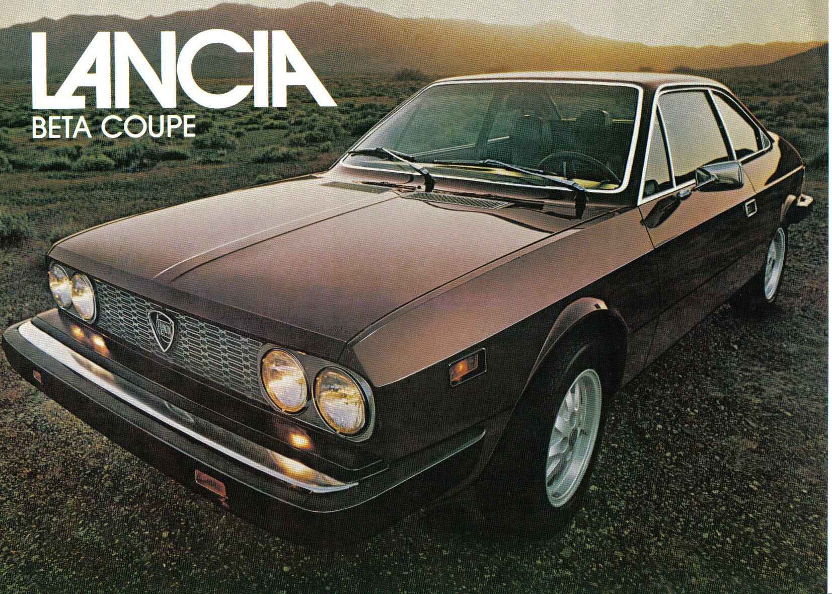 1977 Lancia Beta Coupe
