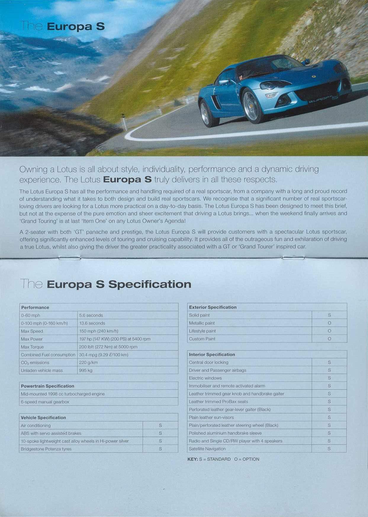 2006 Lotus Brochure