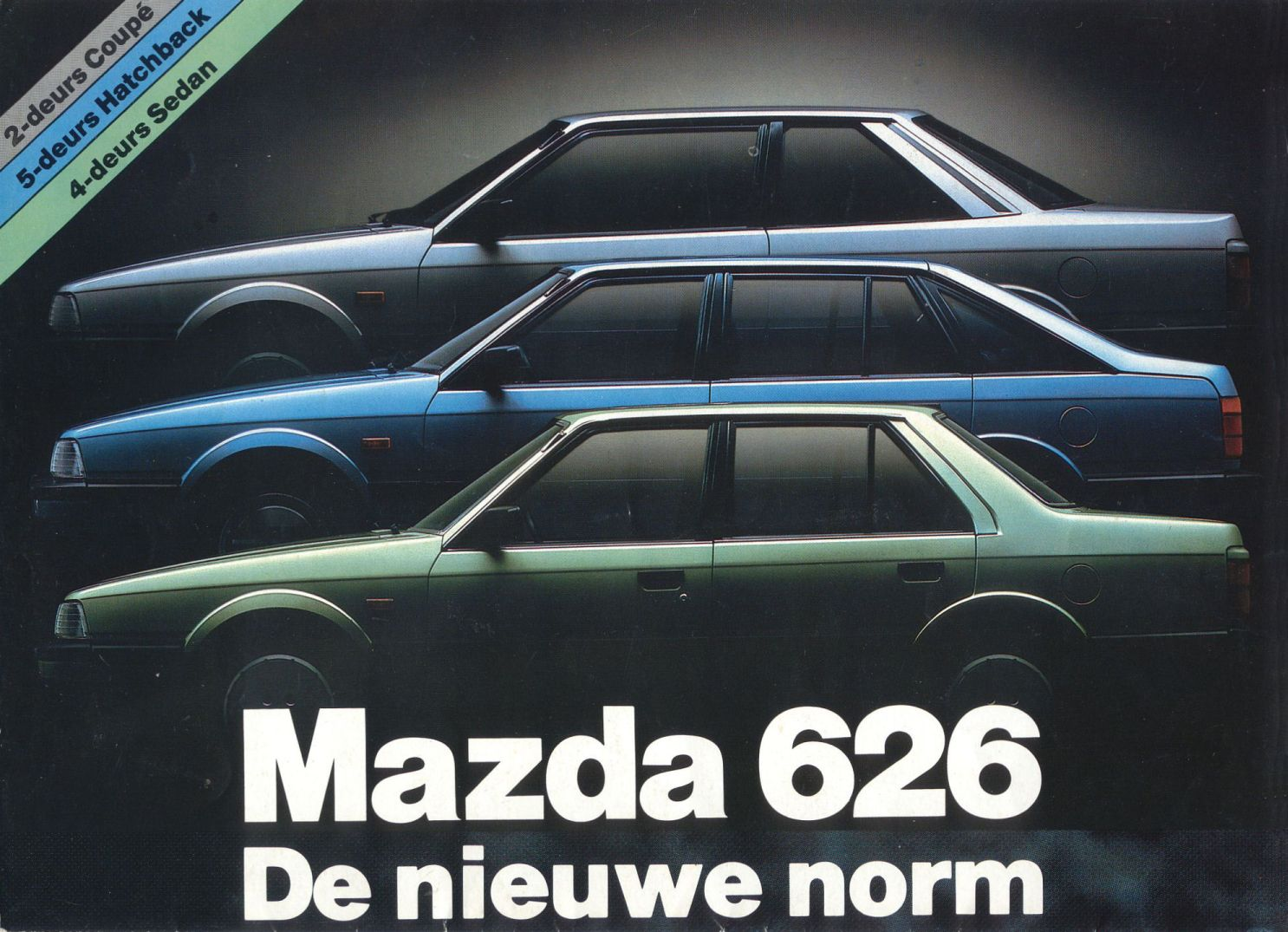 1983 mazda 626 brochure. Black Bedroom Furniture Sets. Home Design Ideas