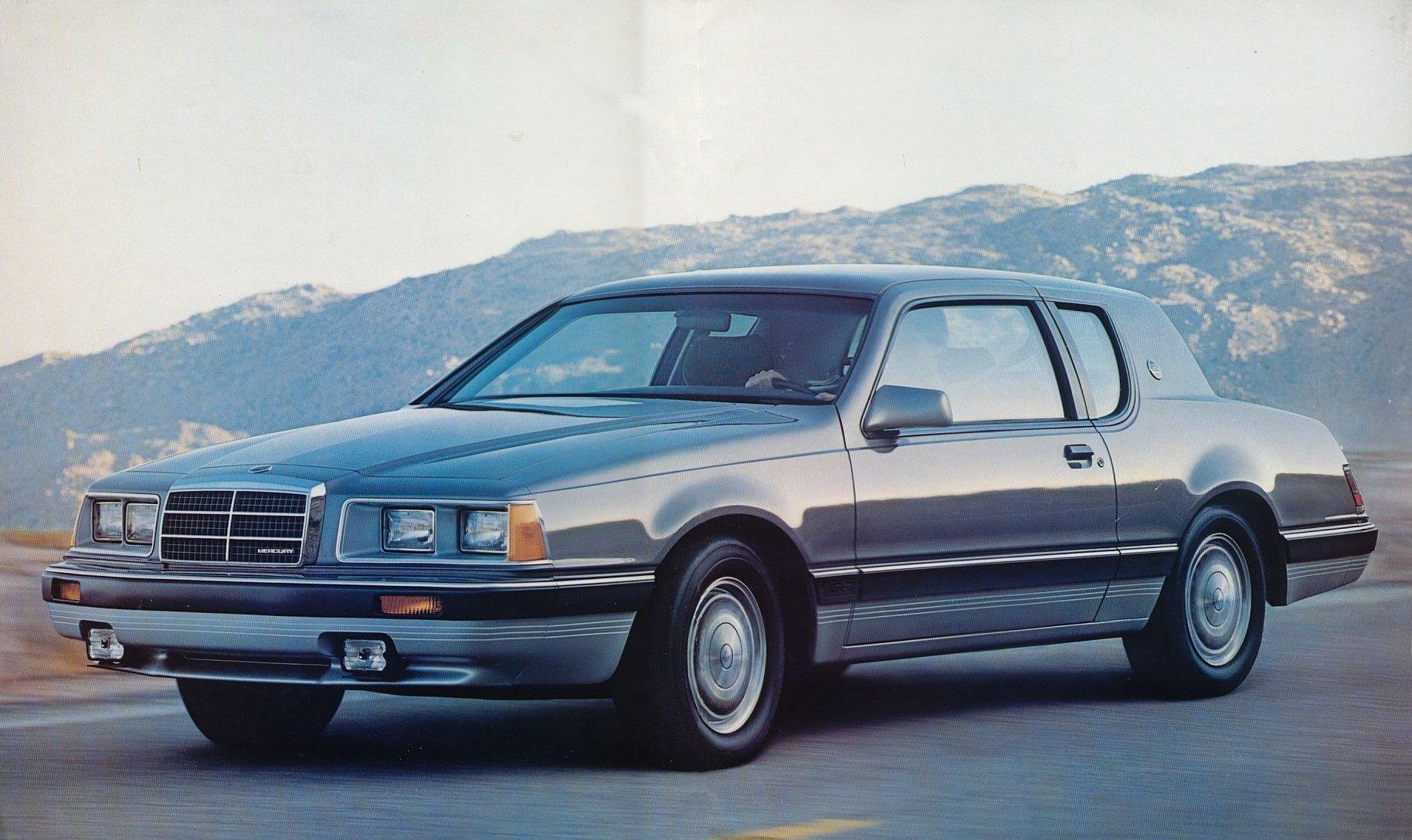 mercury cougar 1985 storm oldcarmanualproject com