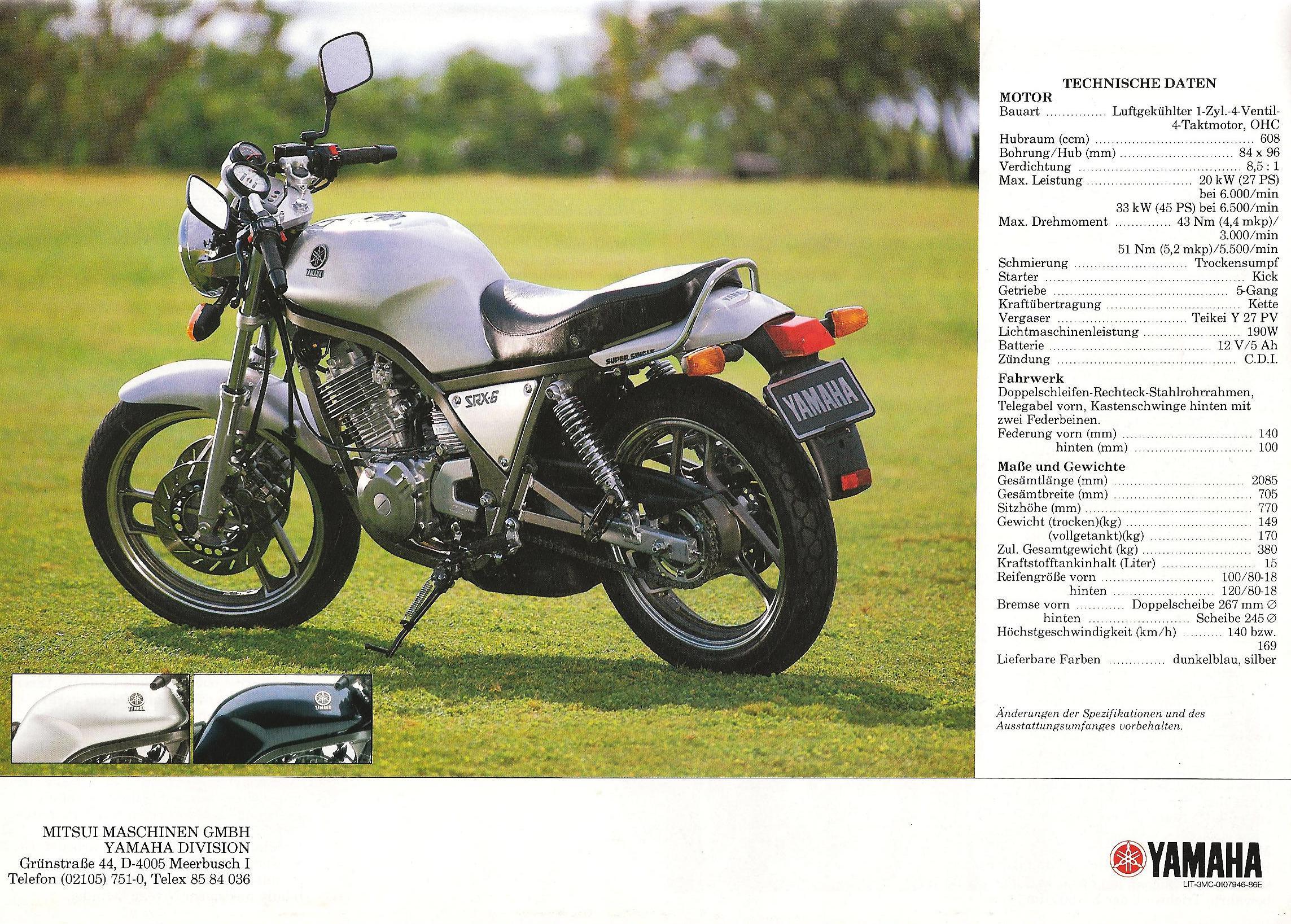 Yamaha Pmanual