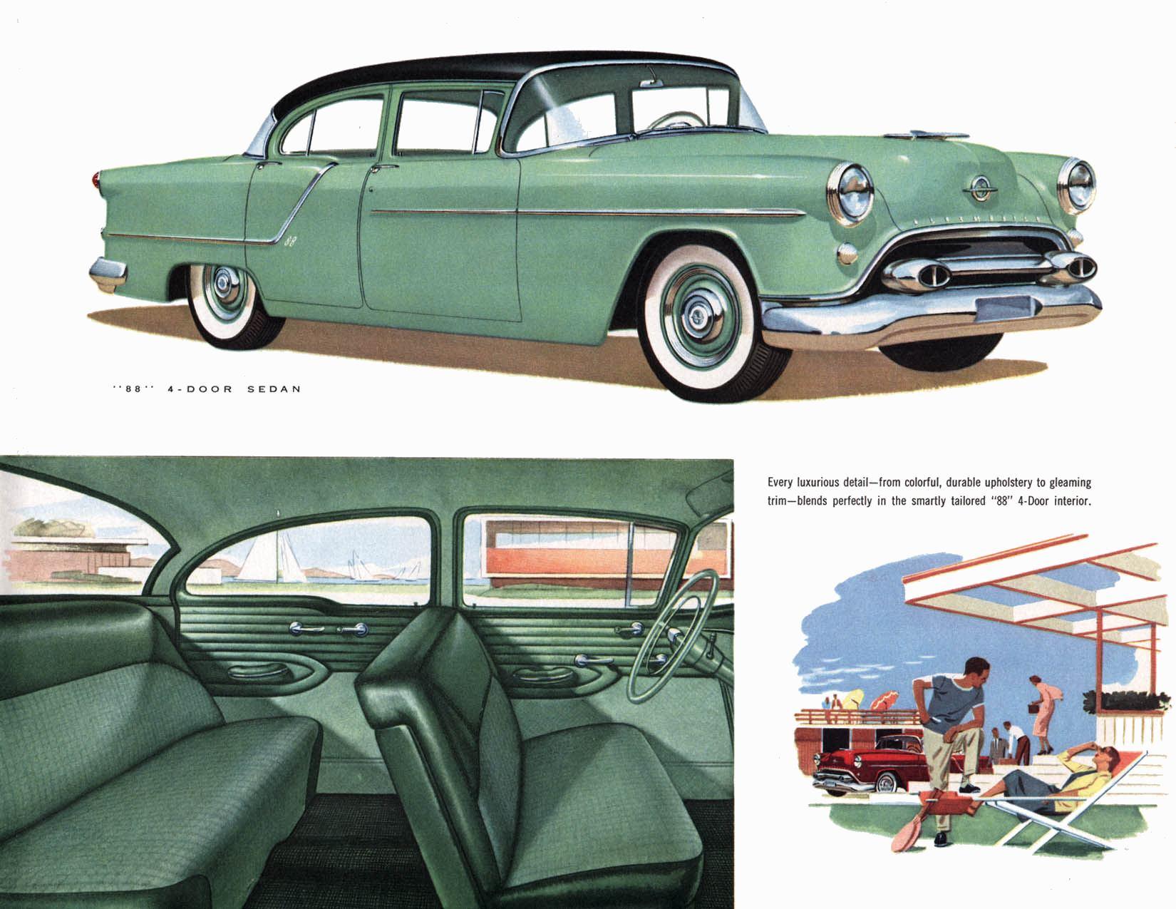 1954 Oldsmobile brochure