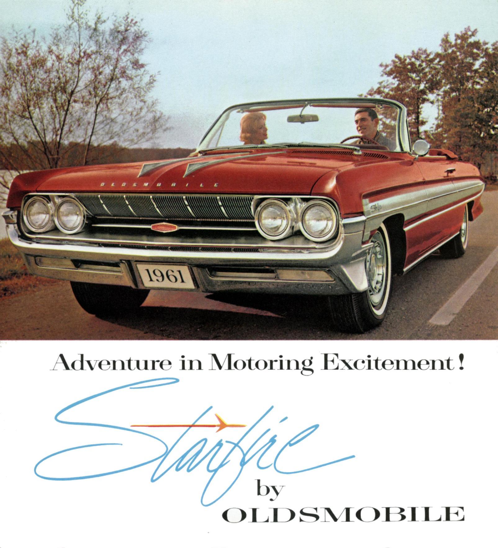 1961 Oldsmobile Starfire brochure