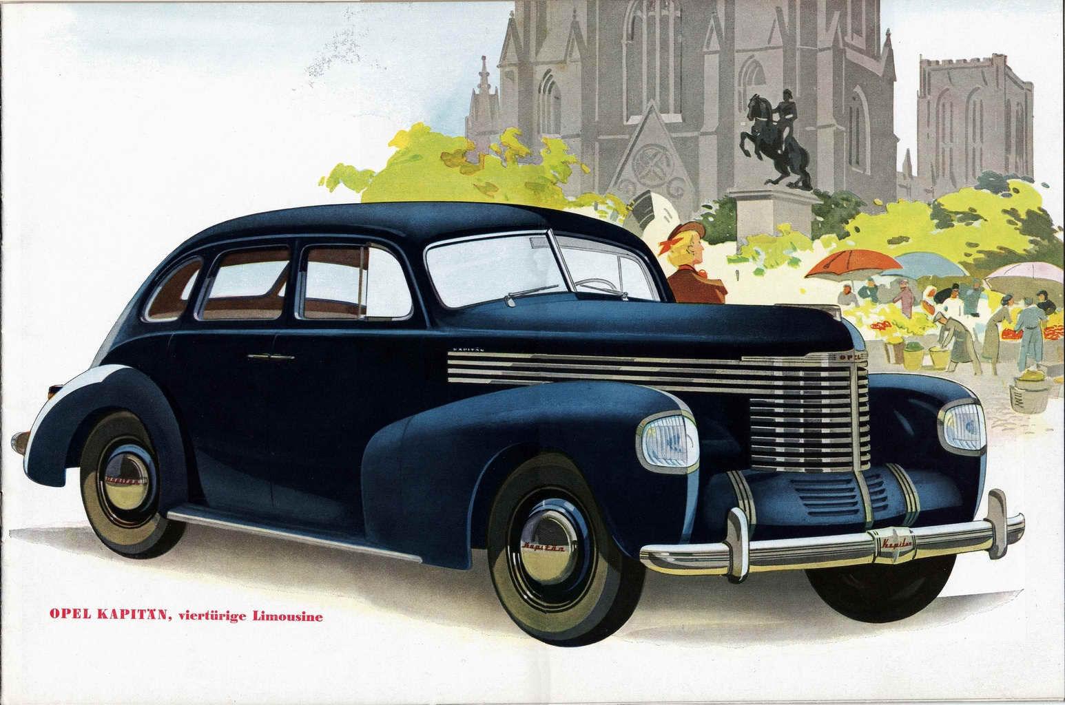 1939 Opel brochure