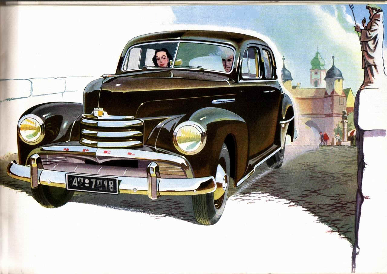 1951 opel kapitan brochure rh storm oldcarmanualproject com Opel Rekord 1948 Opel Kapitan