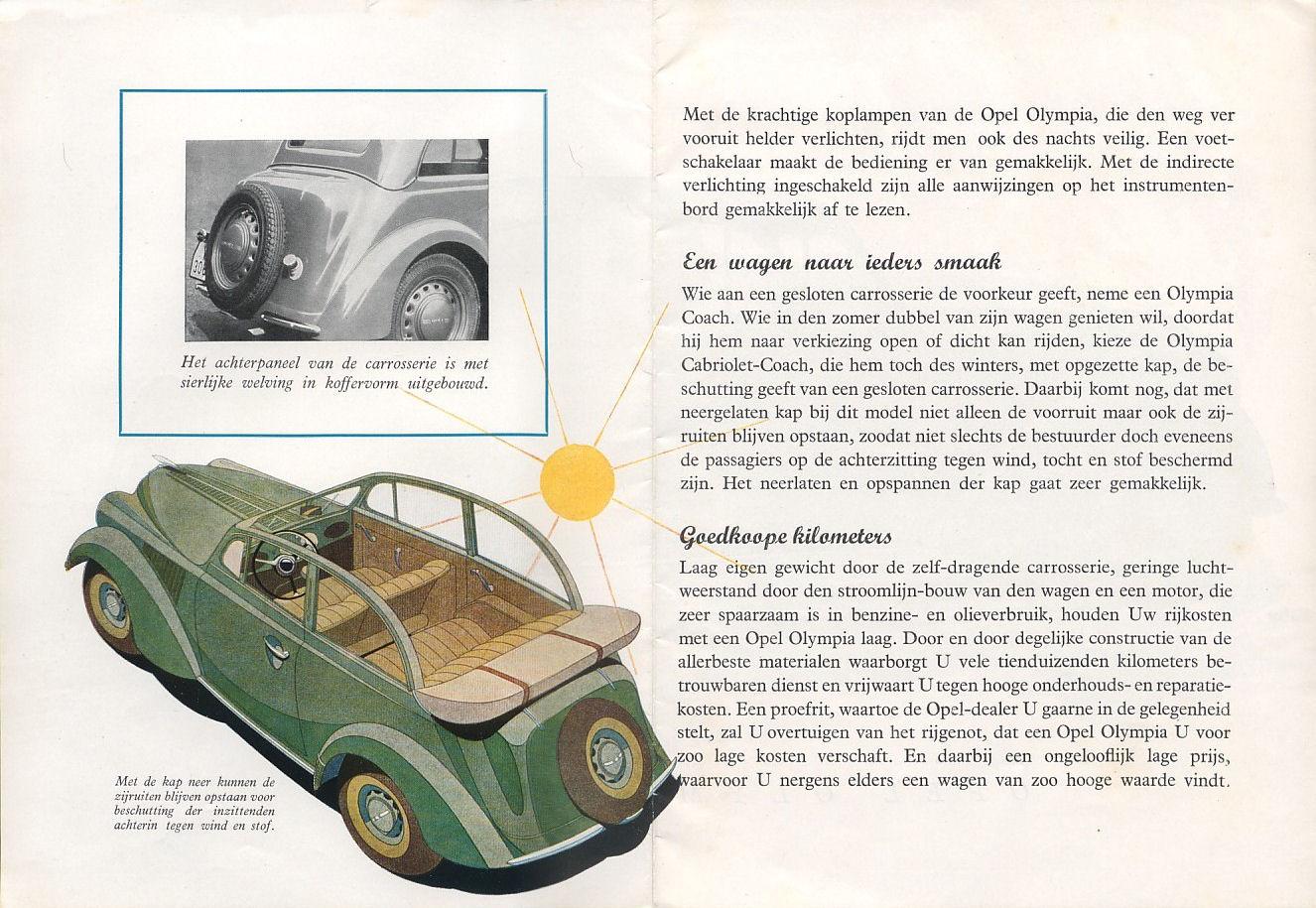 Opel Olympia Mod.1937 now
