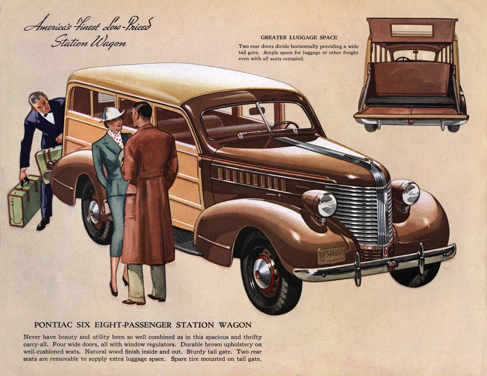 1938 Pontiac brochure