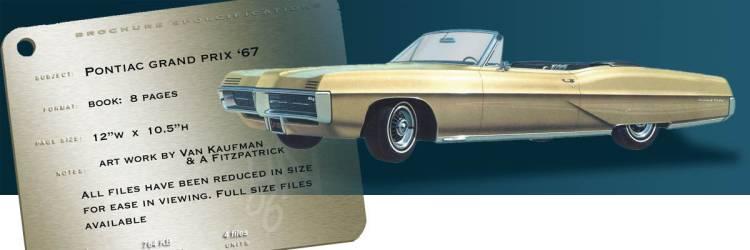 1967 Grand Prix Pontiac Brochure