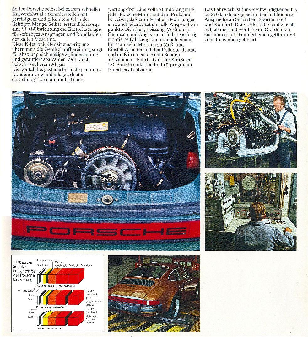 1979 Porsche 911 Sc Turbo Brochure