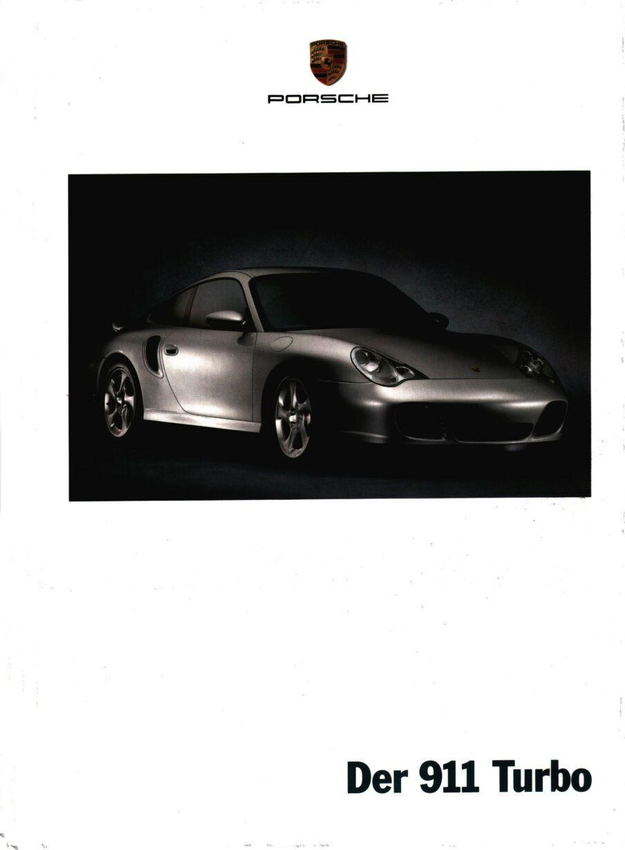 2002 Porsche 911 Turbo Brochure