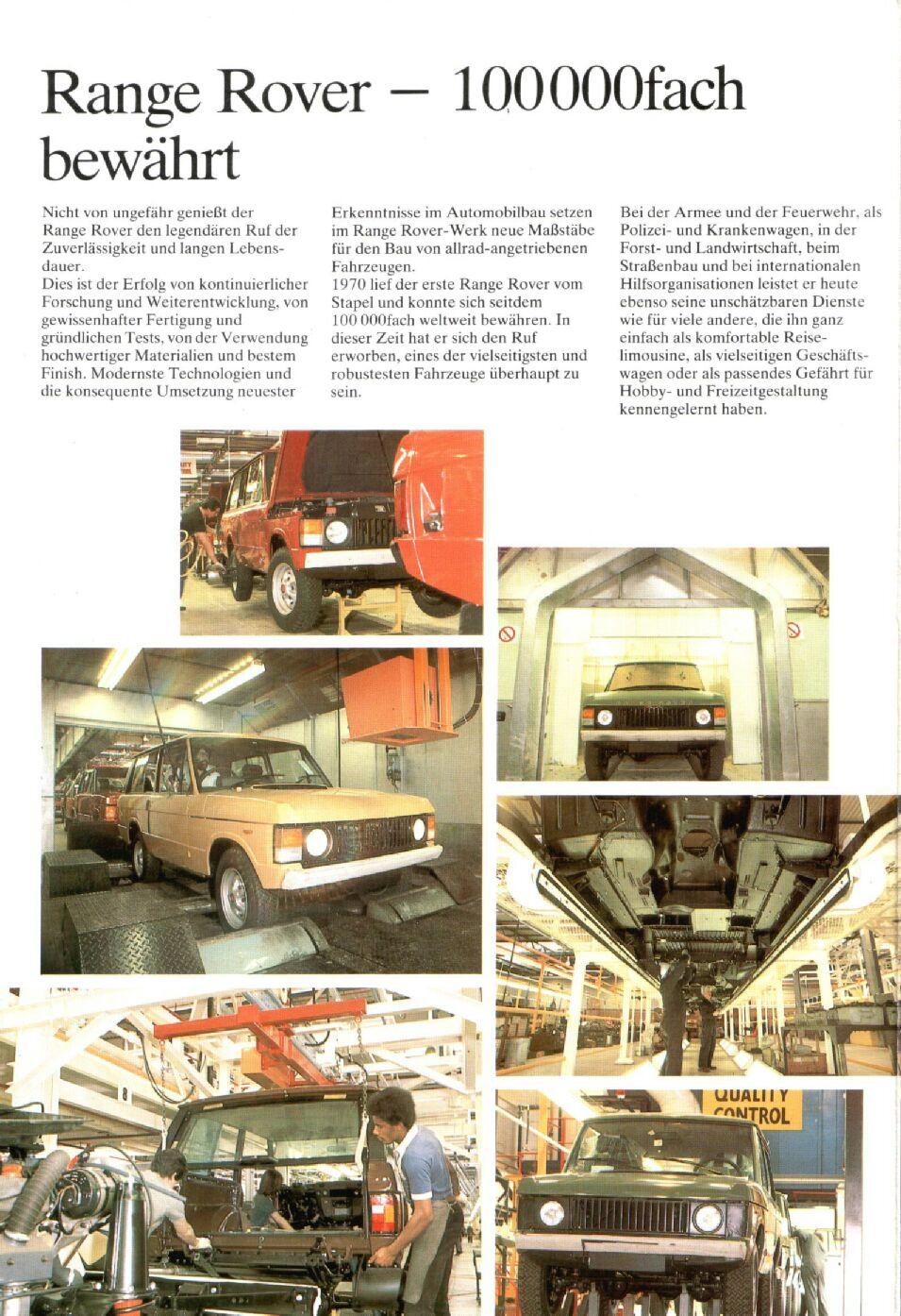 Old Range Rover >> Range Rover 1982