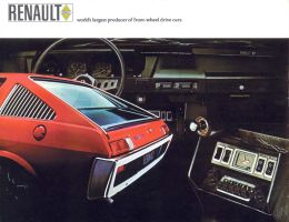1972 renault 15 17 brochure for Garage ad chateau renault