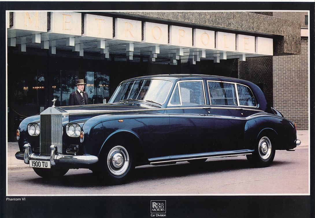 1981 Rolls Royce brochure