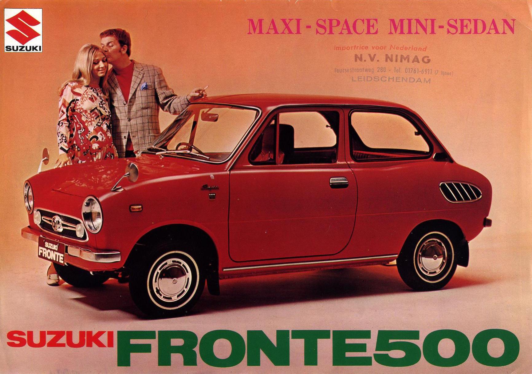 Suzuki Fronte 500 Brochure